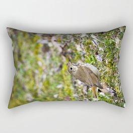 Hermit Thrush Rectangular Pillow