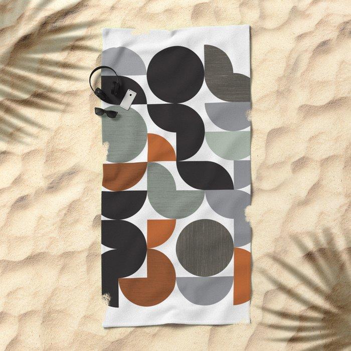 Circulate Beach Towel