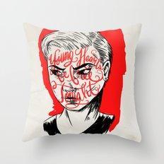 Young Turks Throw Pillow