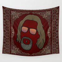 the dude Wall Tapestries featuring Dude by DE.FE.