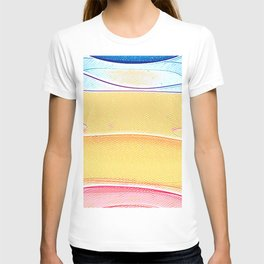 Colorful lines T-shirt