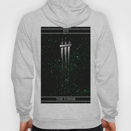 A Tarot of Ink Major Arcana XVI The Tower Hoody
