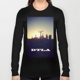Downtown LA Sunset Long Sleeve T-shirt