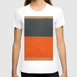 Green and Tangerine on Red - Mark Rothko T-shirt