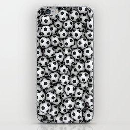 Soccer balls iPhone Skin