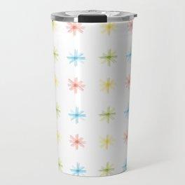 Dot asterisks Travel Mug