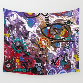 """""""medicated"""" Wall Tapestry"""