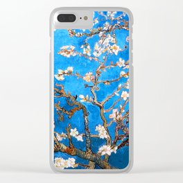 Vincent Van Gogh - Almond Blossom Clear iPhone Case
