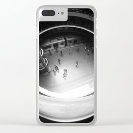 Subway Station Clear iPhone Case