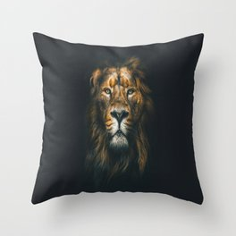 Lion ,animal Throw Pillow