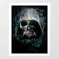 vader Art Prints featuring Vader by Sirenphotos