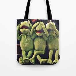 Kermit - Green Frog Tote Bag