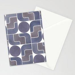 MONTE ALBÁN MOD (ECLIPSE), pattern by Frank-Joseph Stationery Cards