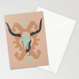 Long horn nordic Stationery Cards