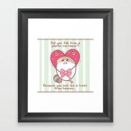 Fat Fat Valentine Framed Art Print