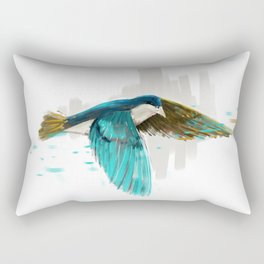 flying bird Rectangular Pillow