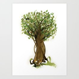 The Fortune Tree #3 Art Print