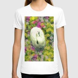 Lapin et de Fleurs T-shirt