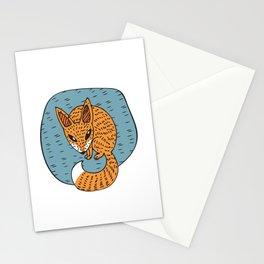 Fox Hole Stationery Cards