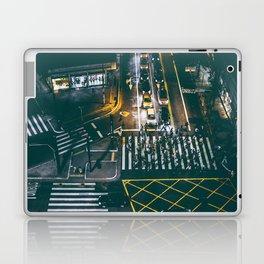 Night walking street 4 Laptop & iPad Skin