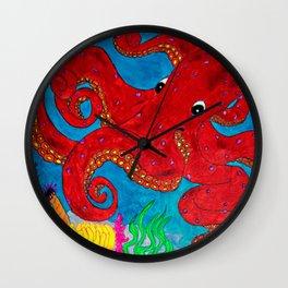 Octo a la Sharpie Wall Clock