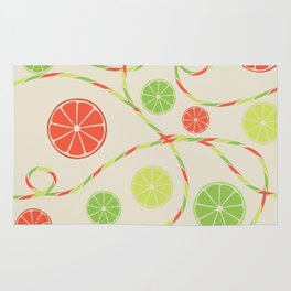 Fruit juice Rug