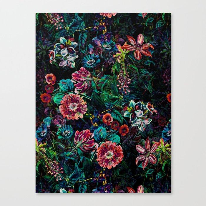 EXOTIC GARDEN - NIGHT IX Canvas Print