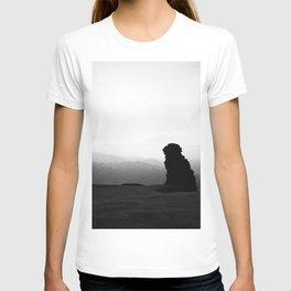 Night To Fall Black & White T-shirt