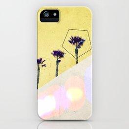 Levitated Mass (Yellow) iPhone Case