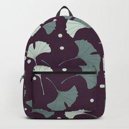 Blue gingko biloba Backpack