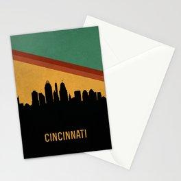 Cincinnati Skyline Stationery Cards