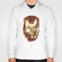 iron man Hoodies featuring Iron Man by beart24