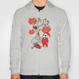 SANTA'S RED BIRD Hoody