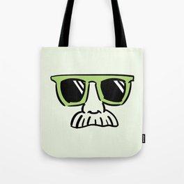 Too Cool (pea green) Tote Bag