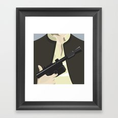 Han Solo - Starwars Framed Art Print