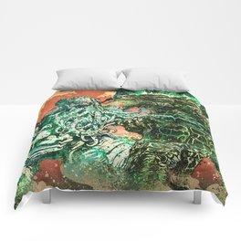 Cthulhu vs Godzilla Comforters