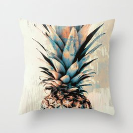 PINEAPPLE 3 Throw Pillow