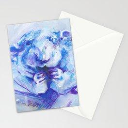 Blue rat Stationery Cards