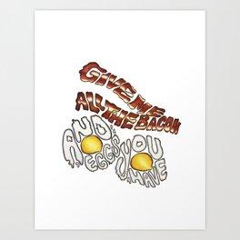 Wakey Wakey Art Print