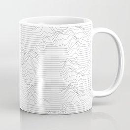Line Mountains Coffee Mug