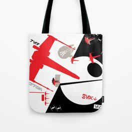 Beat The Empire With A Red Squadron Tote Bag
