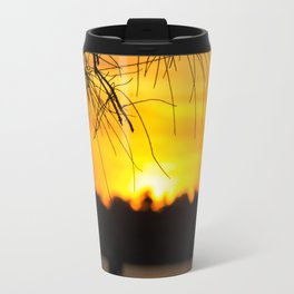 Belmont, Green Point, Australia Jetty at Sunset (Portrait) Travel Mug