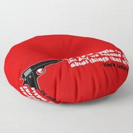 silencer [reloaded] Floor Pillow