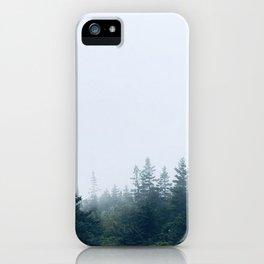 Tree Mist iPhone Case