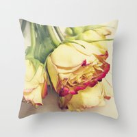 friendship Throw Pillows featuring friendship by Sandra Arduini