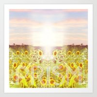 prism Art Prints featuring PRISM by Kao Intouch