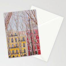 Colourful Street Stationery Cards