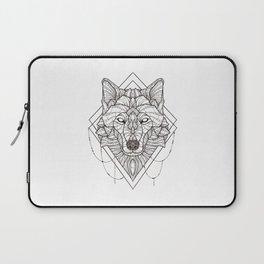 Geometric Wolf Laptop Sleeve