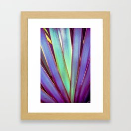 Fiesta Palm Framed Art Print