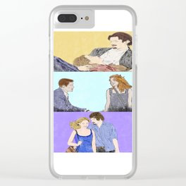 Before Sunrise Trilogy - Watercolor Clear iPhone Case